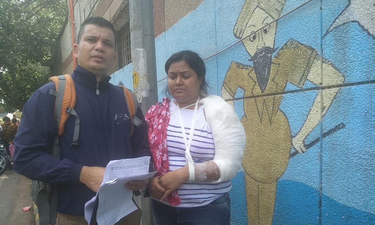 कनाट प्लेस में मियां-बीवी लुट गए, पुलिस थाना इलाका तलाशती रही