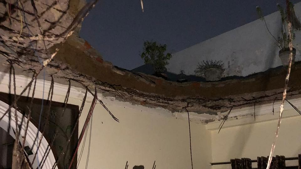 DDA Flat Roof collapses in Rohini