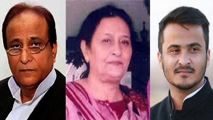 Police Notice to Azam Khan's Wife and son