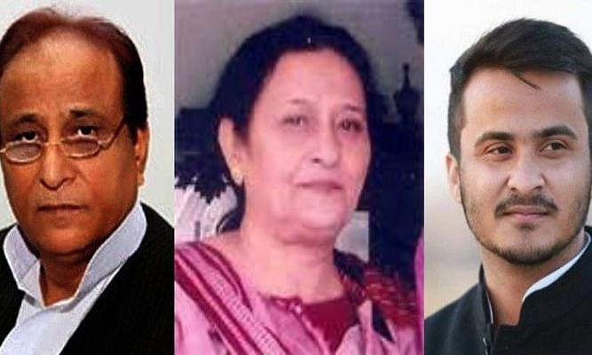 आजम खान के बेटे और पत्नी को पुलिस का नोटिस