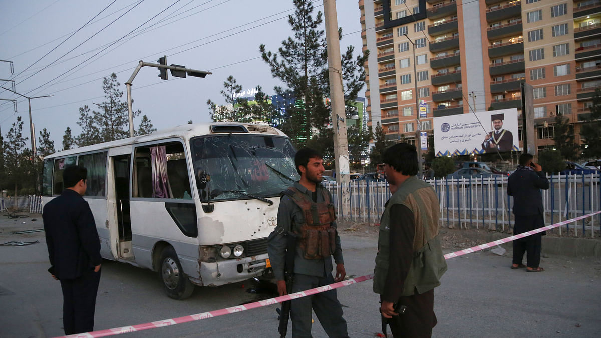 Bomb Blast in Afganistan