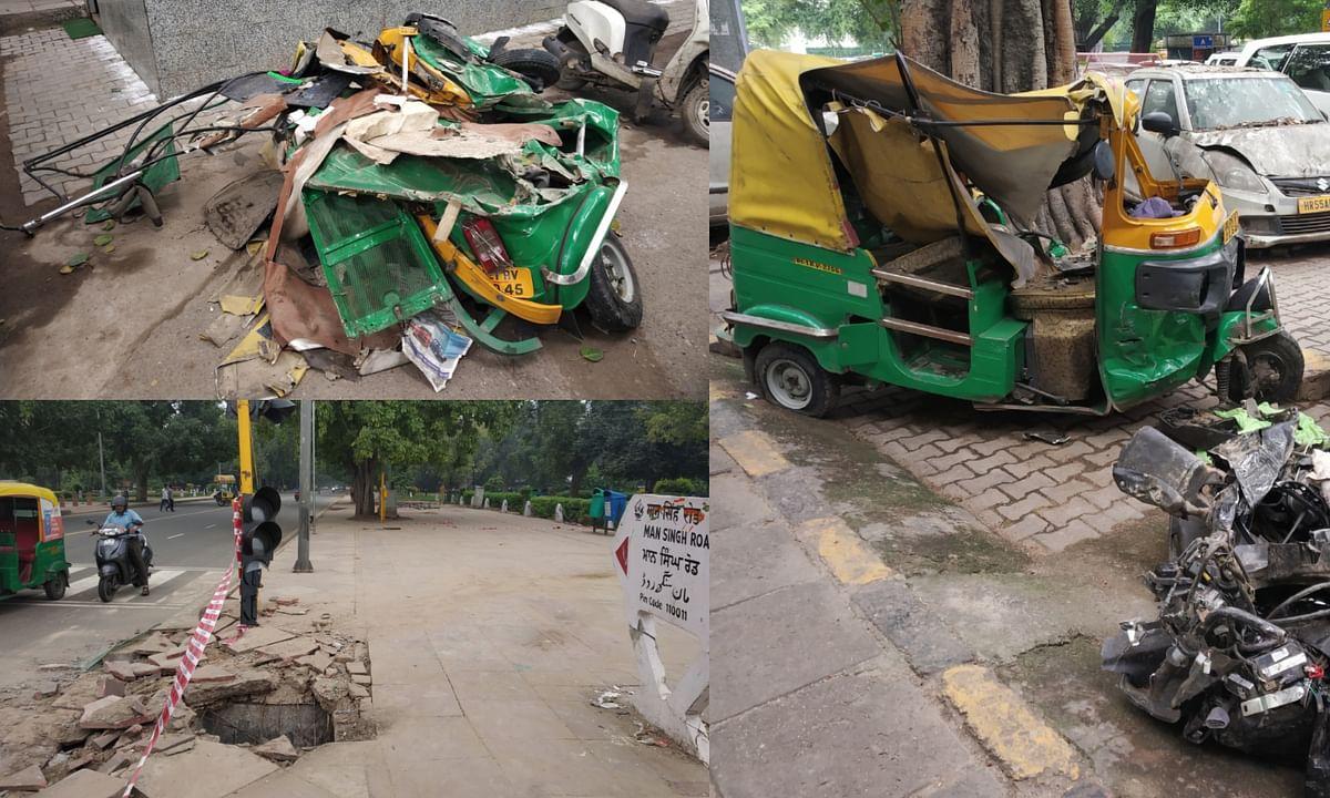 इंडिया गेट के पास ट्रक की टक्कर से 2 की मौत, 2 घायल