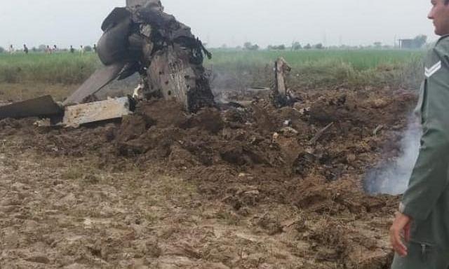 भिंड के पास मिग-21 दुर्घटनाग्रस्त, पालयट सुरक्षित