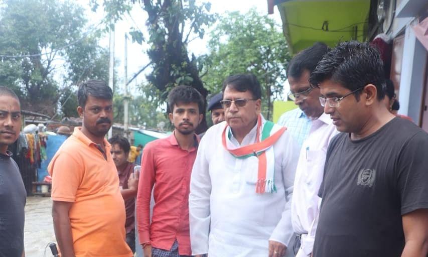 Madhya Pradesh cabinet minister PC Sharma visits flood effected areas