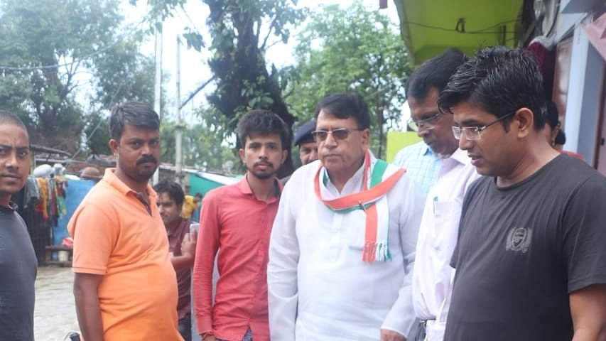 Madhya Pradesh cabinet minister PC Sharma visits flood effected areas