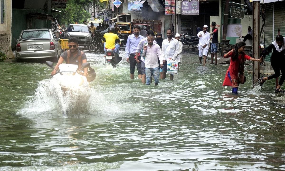 Heavy rains in Madhya Pradesh