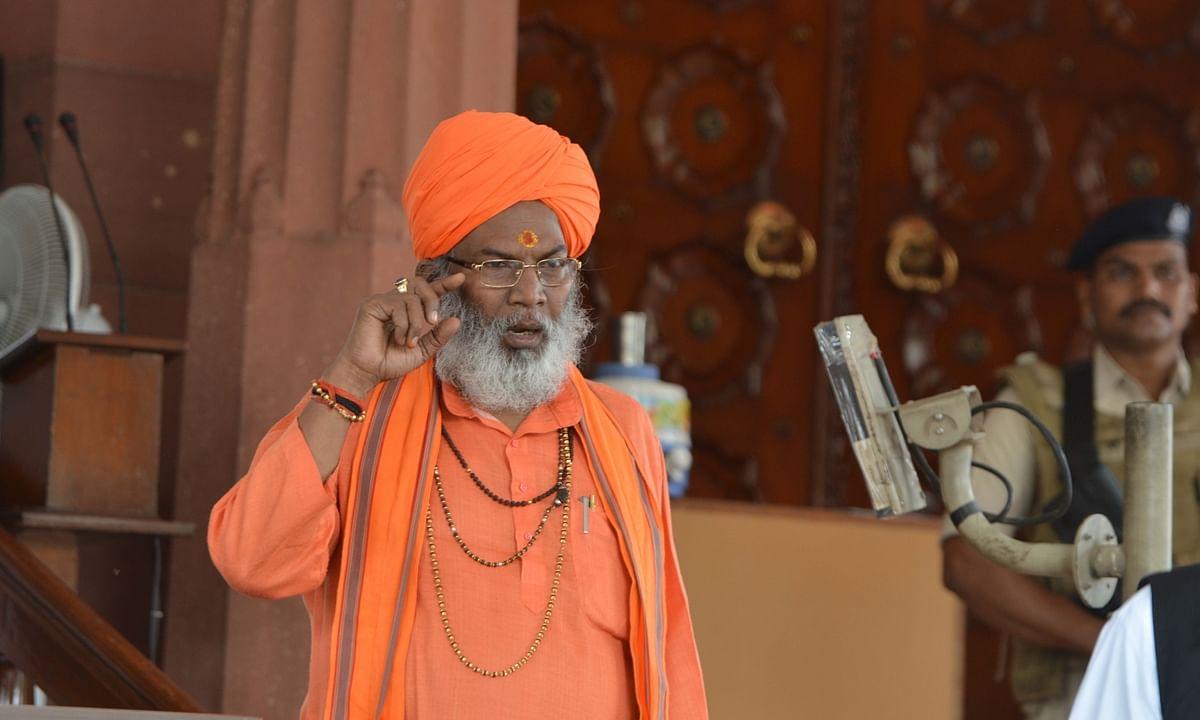 6 दिसंबर से शुरू होगा राम मंदिर का निर्माण : साक्षी महाराज