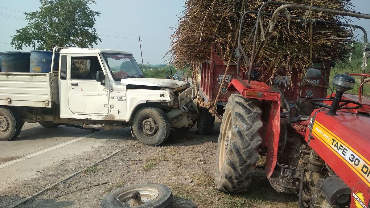 Accident in Banda