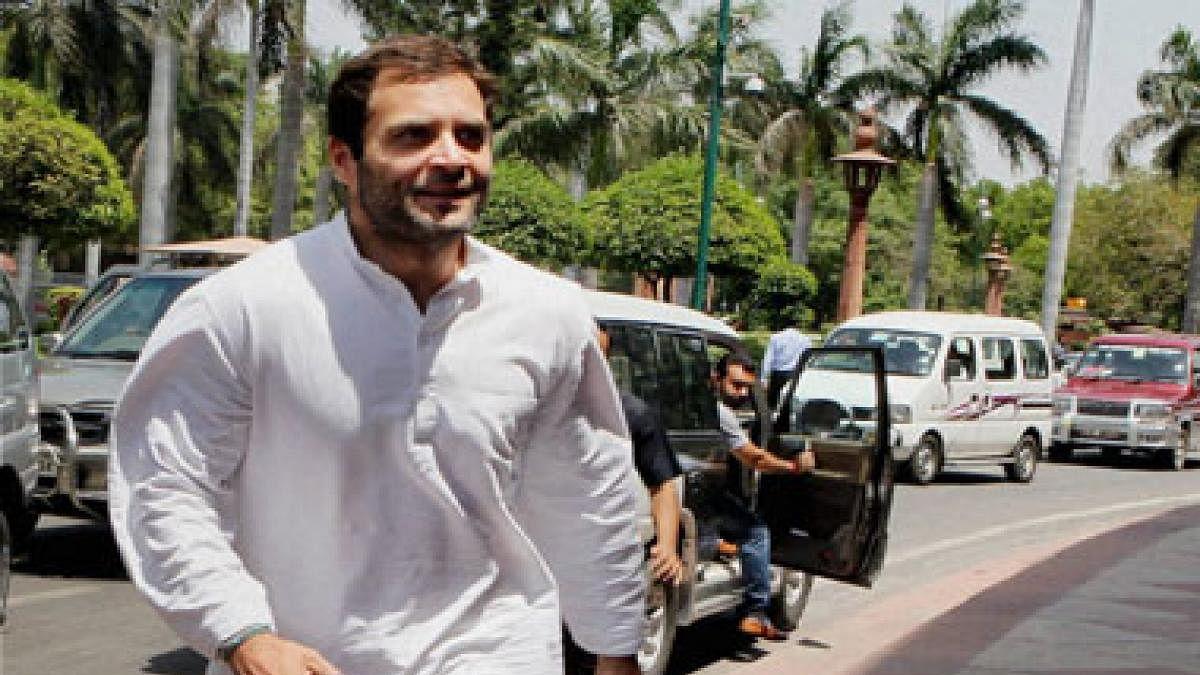 Rahul Gandhi Secret Foreign Visit