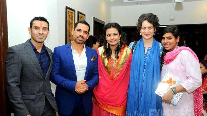 Tahseen Punawala with Robert Vadra and Family