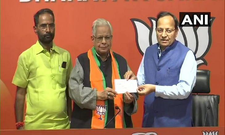 भाजपा में शामिल हुए कांग्रेस नेता रिजवी ने कहा, हज में भी हो रहा था मोदी-मोदी