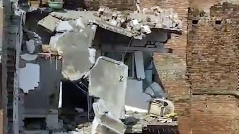 Cylinder Blast in Mau district