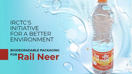 Rail Neer Biodegradable Bottle