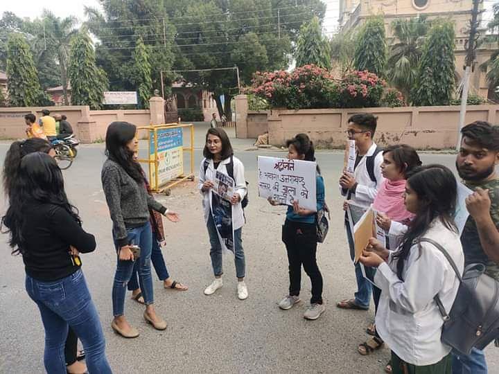 Uttarakhand Ayurved Medical Student Protest