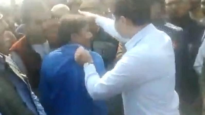 DM Amethi Prashant Sharma Viral Video