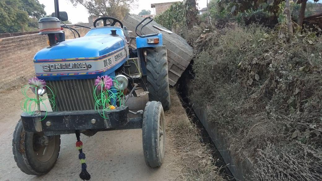 Overloaded Tractor