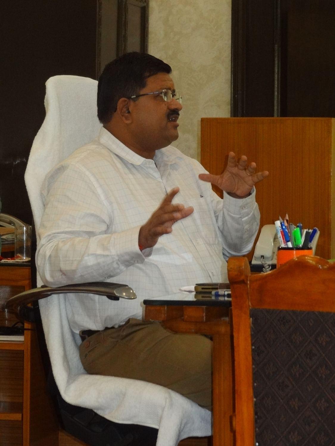 Director General of Tihar Prison Sandeep Goel