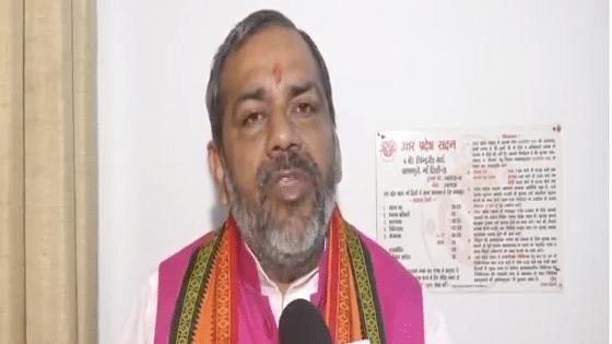 Uttar Pradesh minister Sunil Bharala