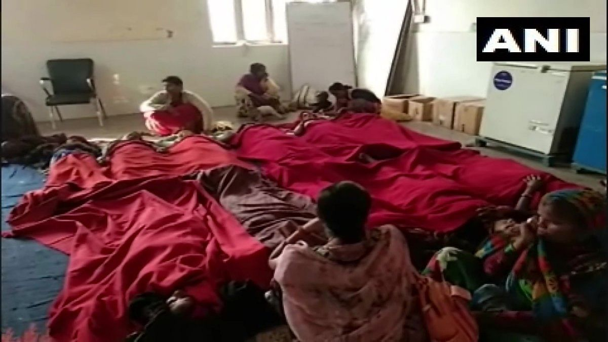 Sterilisation camp at CHC Hospital in Baberu Banda