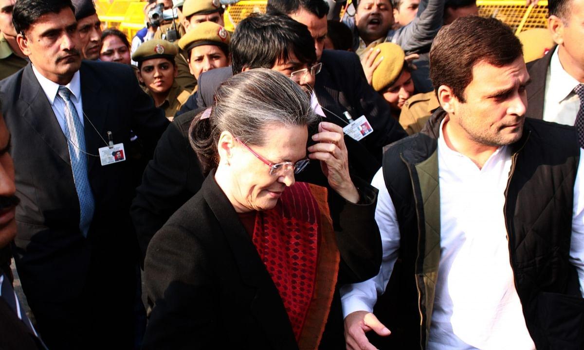 Sonia, Rahul, Priyanka SPG Security Removed