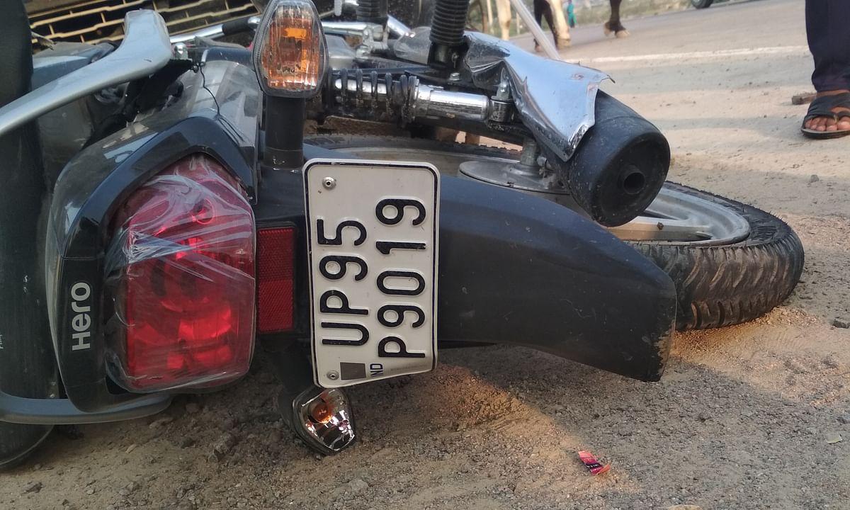 शराब के नशे में ट्रक चालक ने किसान को रौंदा , मौके पर मौत