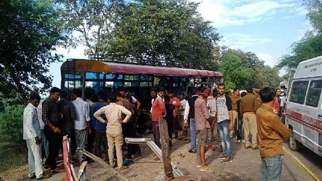 Banda Roadways Bus Accident