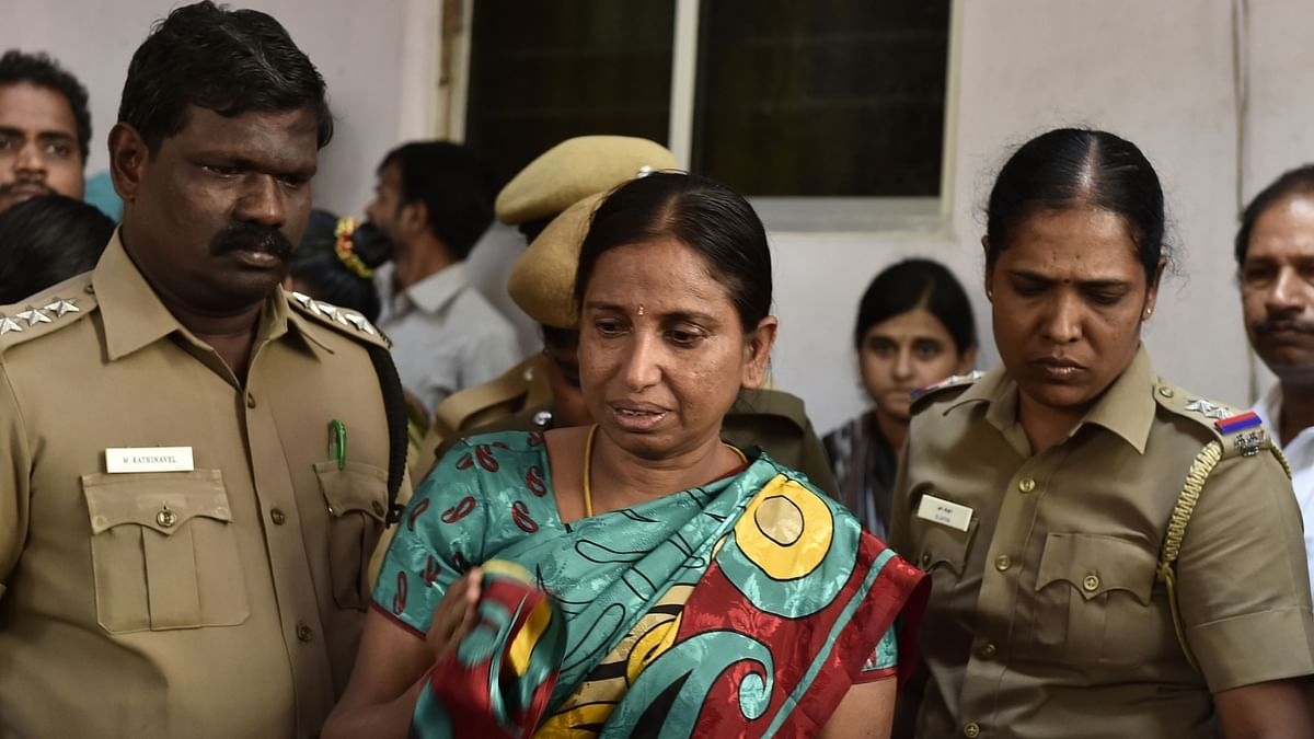 Nalini Sriharan, a convict in the Rajiv Gandhi assassination case