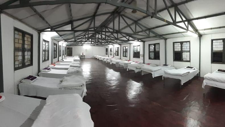 Facility for coronavirus patient