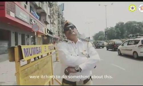मुंबई पुलिस ने मारा नहले पर दहला, अगर फर्जी में हॉर्न पर हाँथ मारा, समझो लंबा रुकोगे।
