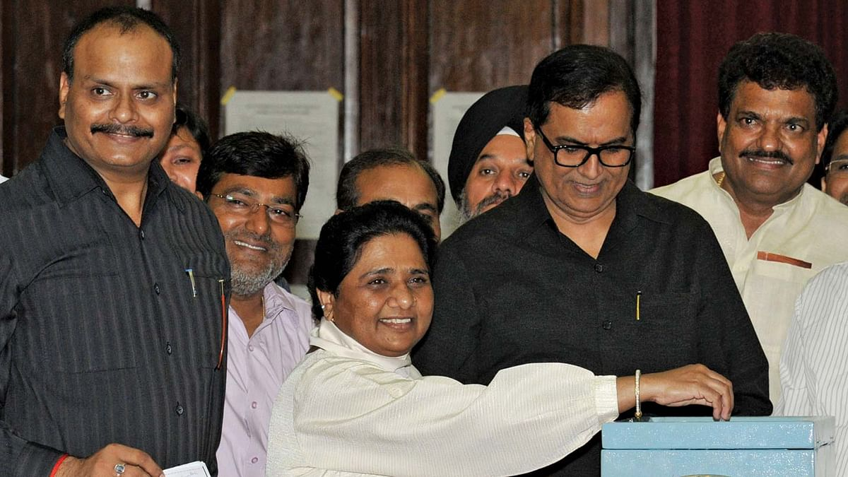 File Picture Mayawati