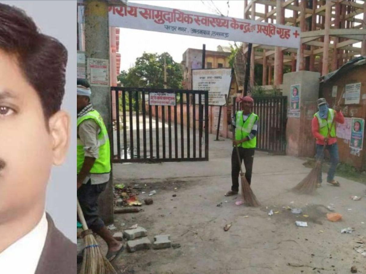 बीजेपी नेता ने स्वच्छ भारत अभियान में भ्रष्टाचार का खुलासा किया।