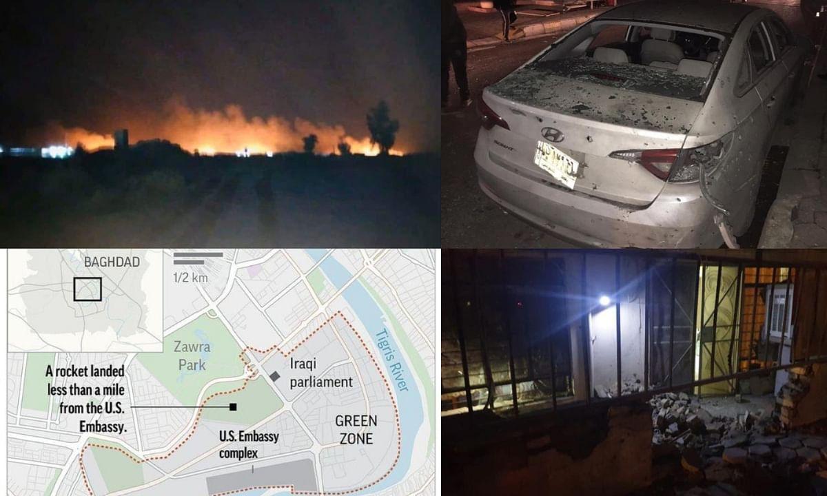 iran attack on american embassy baghdad