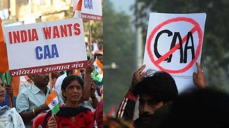 Pro CAA vs Anti CAA