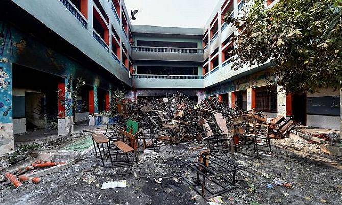 दिल्ली हिंसा: उपद्रवियों ने सैकड़ों मासूम बच्चों की उम्मीदों और भविष्य को बर्बाद कर दिया।