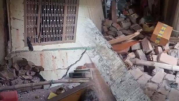 पटना के गाँधी मैदान के पास विस्फोट, विस्फोट होने के बाद पूरे इलाके में अफरातफरी मच गई।