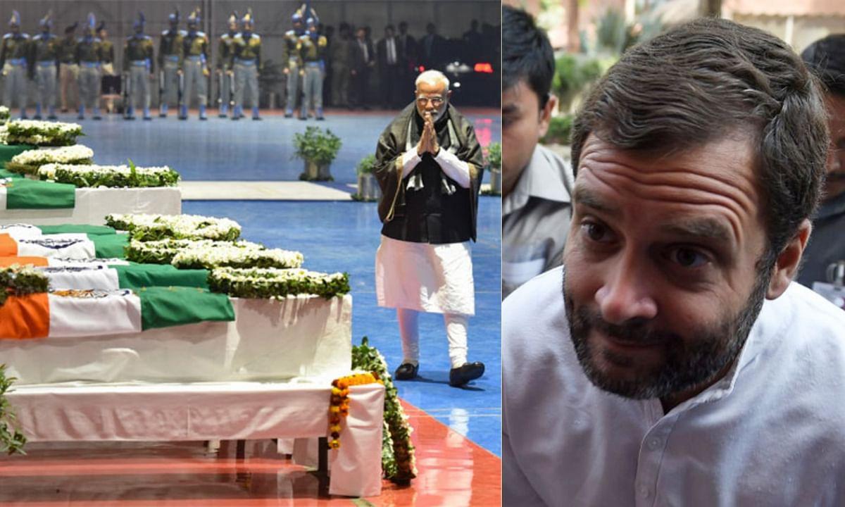 Rahul Gandhi on Pulwama Attack