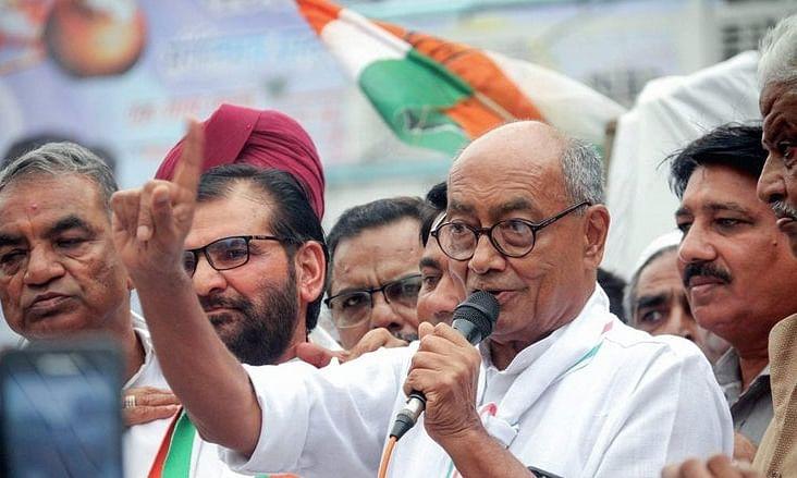कांग्रेस नेता दिग्विजय सिंह खुद को हिंदू नहीं मानते हैं !