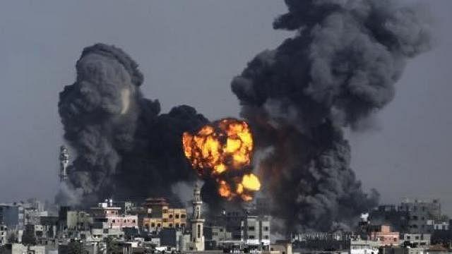 Gaza Rebels fired rockets on israel