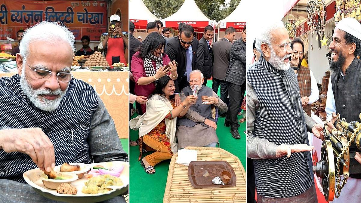 PM Modi in Hunar Haat
