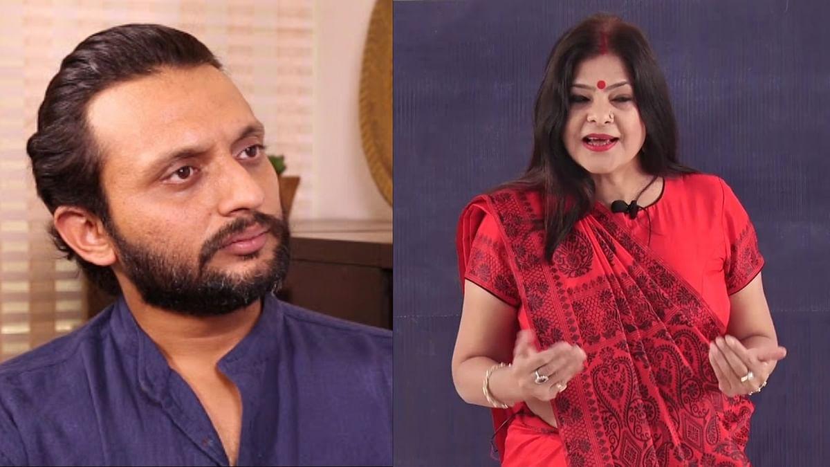 Malini Awasthi Angry on Zeeshan Ayyub Tweet