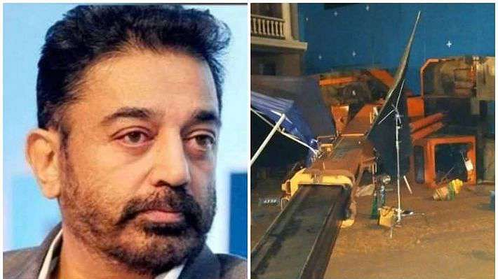 Accident on Indian 2 film set