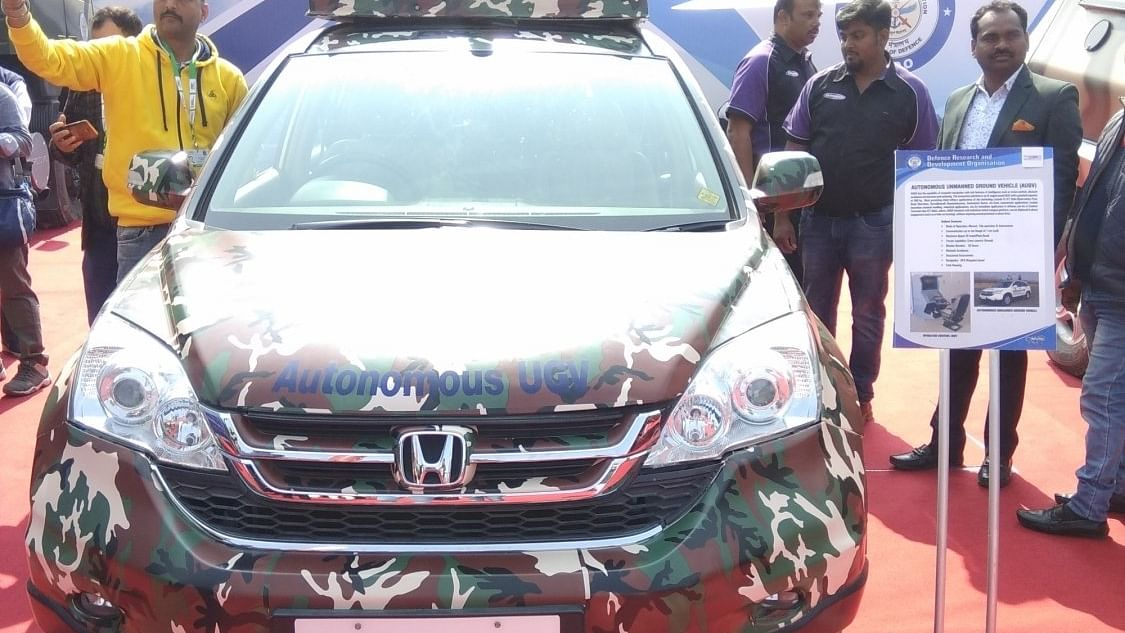 AUGV Vehicle Developed by DRDO