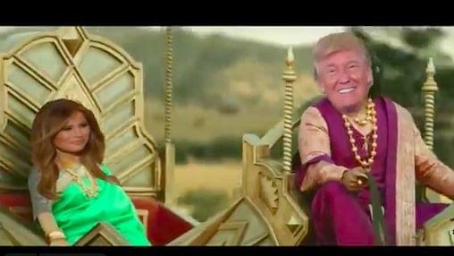 Donald Trump as Bahubali