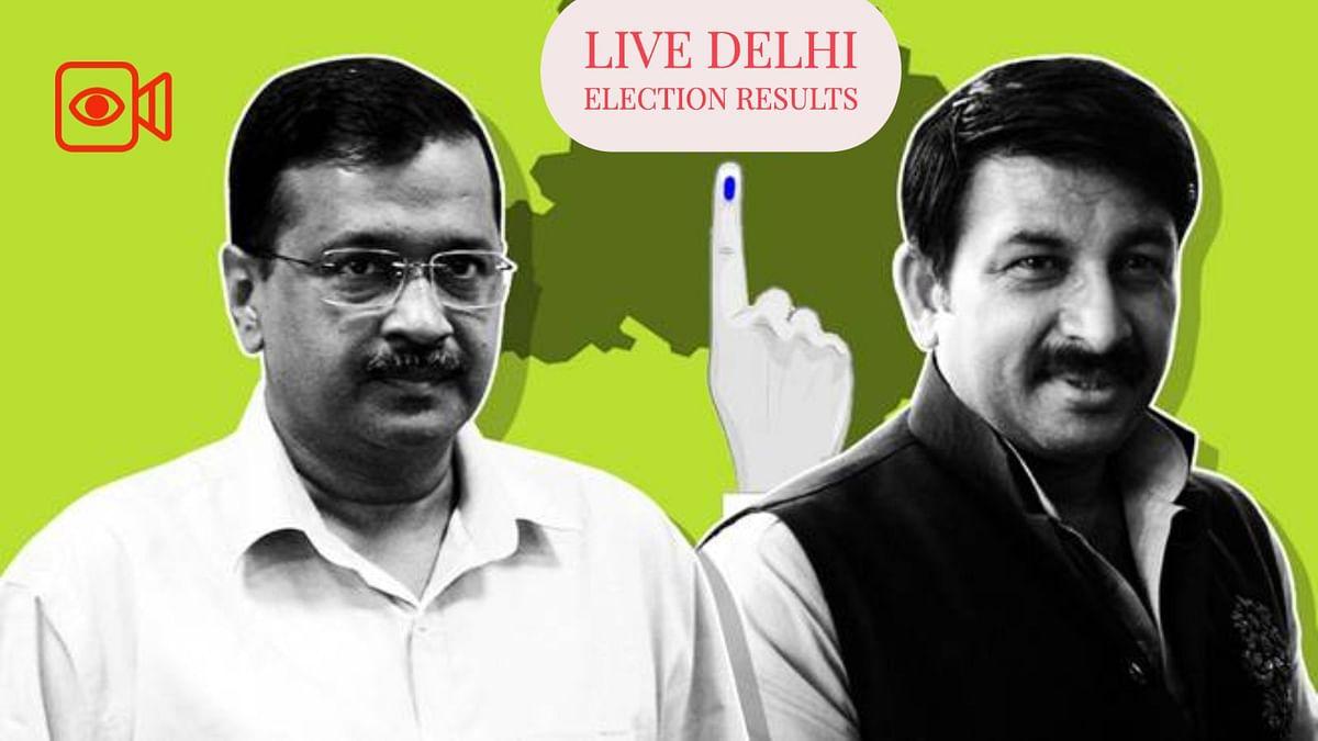 Live Delhi Election Results : दिल्ली का नायक आम आदमी केजरीवाल?