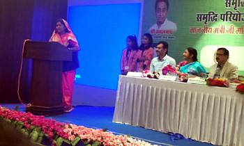 महिला-बाल विकास मंत्री श्रीमती इमरती