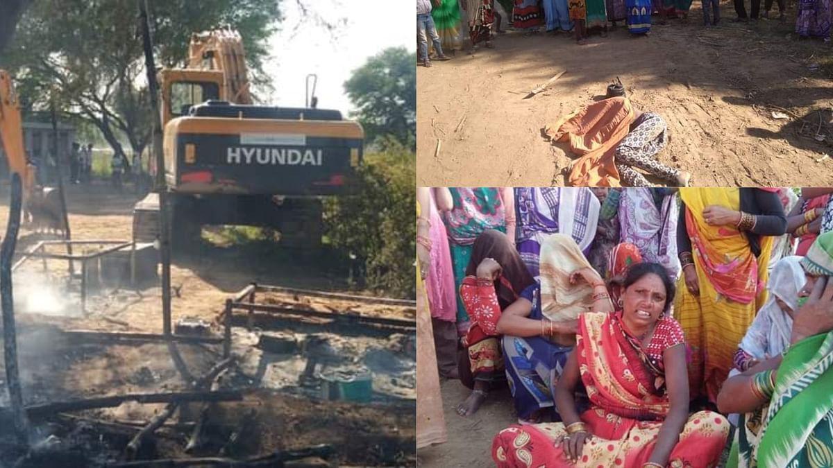 Overloaded Truck Crushed a Girl in Banda
