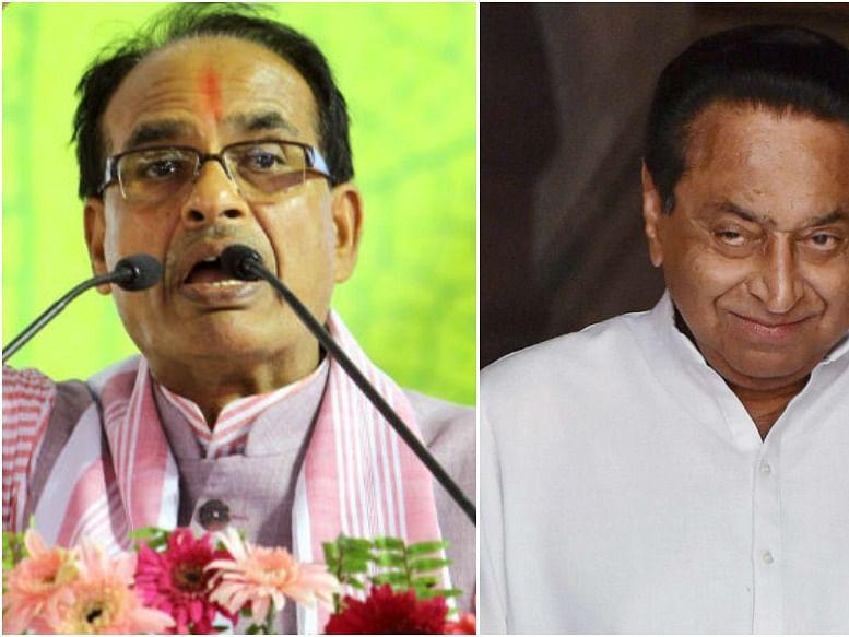 मध्यप्रदेश की कमलनाथ सरकार में सियासी घमासान, भाजपा के तीन विधायक  कमलनाथ से मिले।