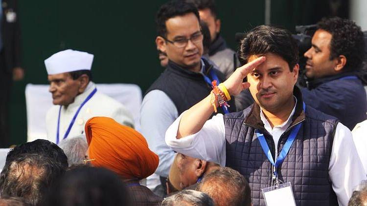 Jyotiraditya scindia will Join BJP
