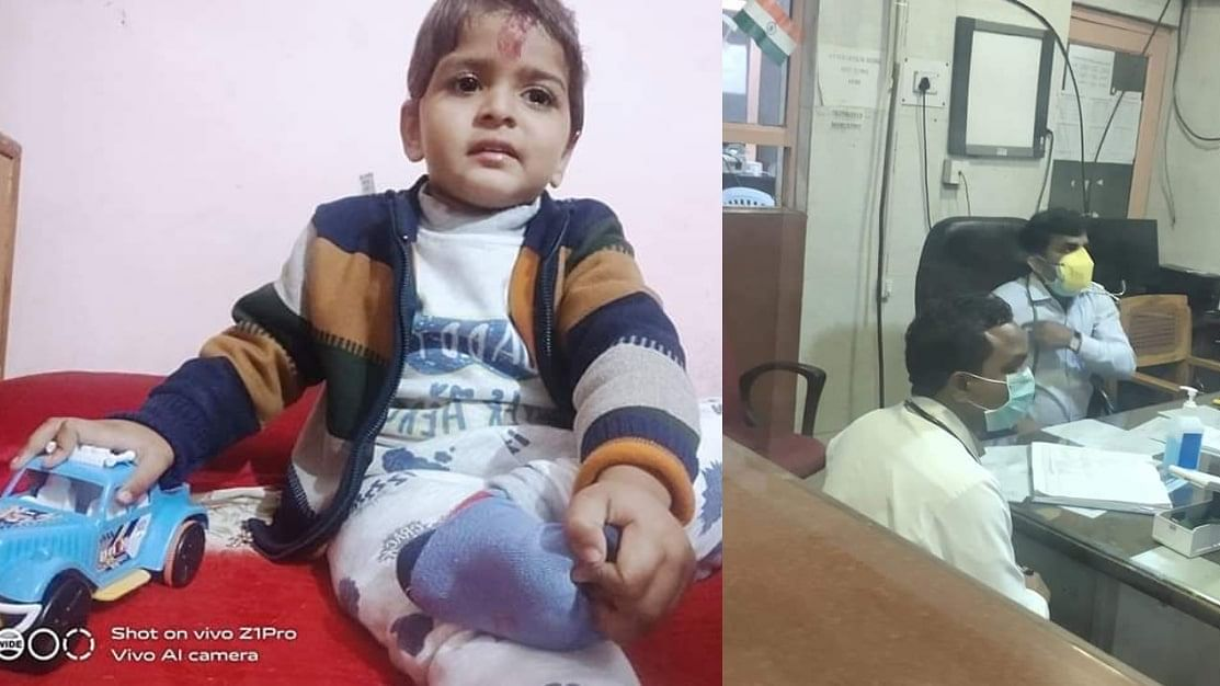 3 year old child death due to negligence of  Civil Hospital Doctors