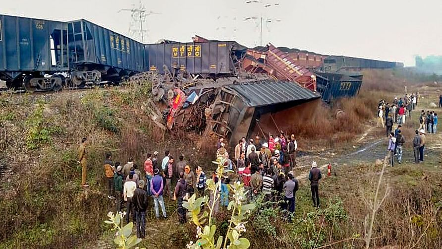 Singrauli Train Accident